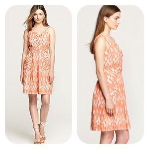 J. Crew Caroline Ikat Sleeveless Pockets Dress 8